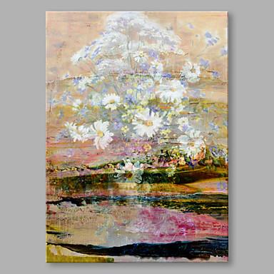 Maalattu Asetelma Pysty, Korkealaatuinen Kangas Hang-Painted öljymaalaus Kodinsisustus 1 paneeli