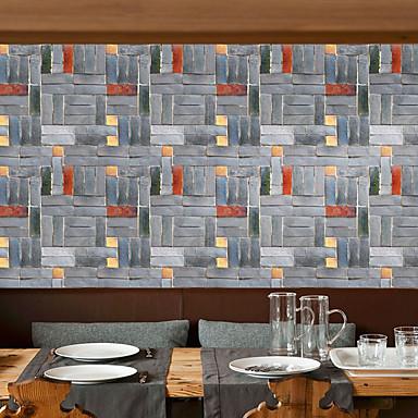 papel de parede PVC/Vinil Revestimento de paredes - Auto-adesivo Geométrica Art Deco 3D