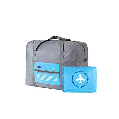 Unisex Boarding Case/Cabin Case Nylon All Seasons Casual Sports Formal Outdoor Office & Career Cuboid Zipper Green Orange Fuchsia Sky Blue