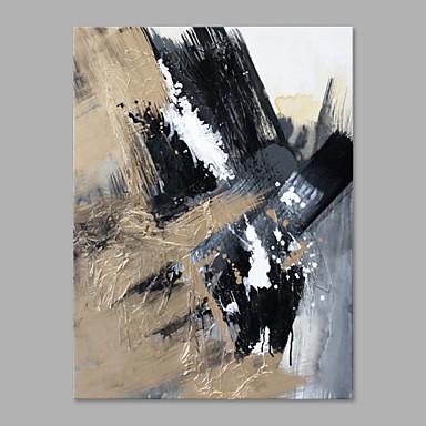 Maalattu Abstrakti Pysty, Moderni tyyli Kangas Hang-Painted öljymaalaus Kodinsisustus 1 paneeli