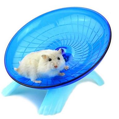 Mus & rotter Hamster Silikon Treningshjul Blå Rosa