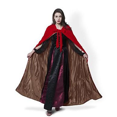 noita Päälystakki Cosplay-Asut Viitta Noidan luuta Naamiaisasu Halloween Props Juhla-asu Ei määritelty Unisex Joulu Halloween Karnevaali