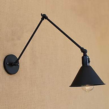 Country / Retro Swing Arm Lights Metal Wall Light 110-120V / 220-240V 60W