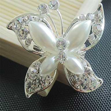 Women's Brooches - Flower, Animal Brooch White / Sliver For Party / Party / Evening / Dailywear