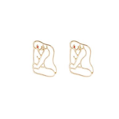Dame Øredobber Set Unikt design Mote Personalisert Euro-Amerikansk Legering Smykker Til Hverdag Avslappet