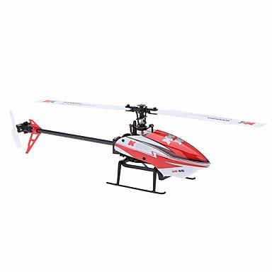 RC Helicopter WL Toys K120 6-kanavainen 6 Akselin 2,4G Harjaton sähköinen - Kauko-ohjain Flybarless