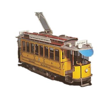 Carros de Brinquedo Quebra-Cabeças 3D Quebra-Cabeça Artesanato de Papel Ônibus 3D Simulação Faça Você Mesmo Clássico Unisexo Dom