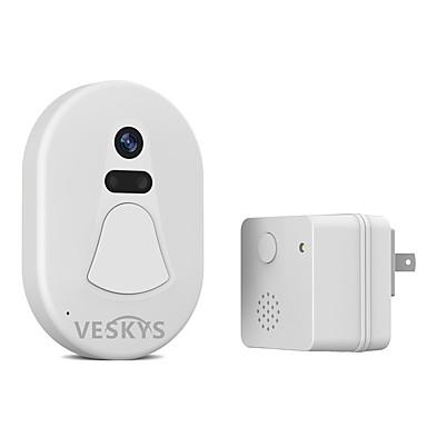 VESKYS Sem Fio Fotografado / Gravação Interfone de Vídeo Um para Um