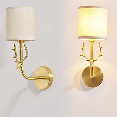 Simple Vintage Traditional/Classic Wall Lamps & Sconces For Metal Wall Light 220V 110V 40W