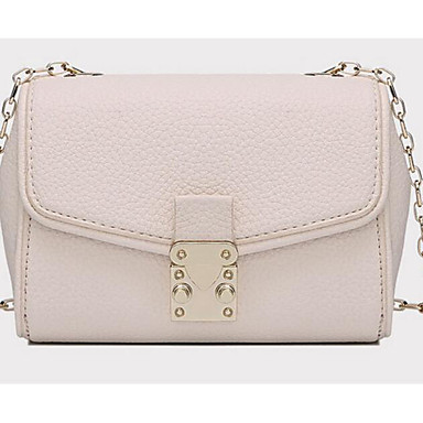 Women Bags All Seasons Cowhide Shoulder Bag with for Casual Outdoor White Black Gray