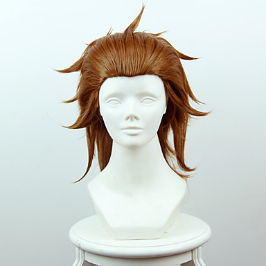 Synthetic Wig Straight Synthetic Hair Wig Women's Short Cosplay Wig Capless