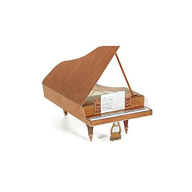 Quebra-Cabeças 3D Quebra-Cabeça Artesanato de Papel Brinquedos de Montar Piano Instrumentos Musicais 3D Simulação Artigos de mobiliário