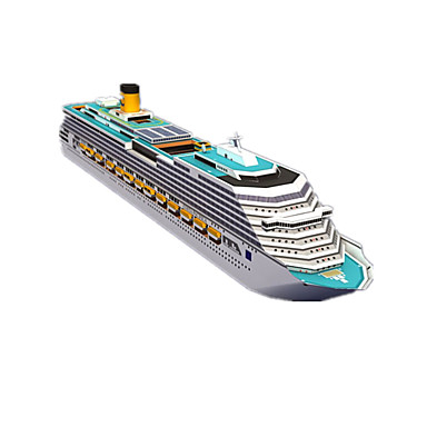 3D Puzzles Paper Craft Ship Simulation DIY Hard Card Paper Kid's Boys' Unisex Gift