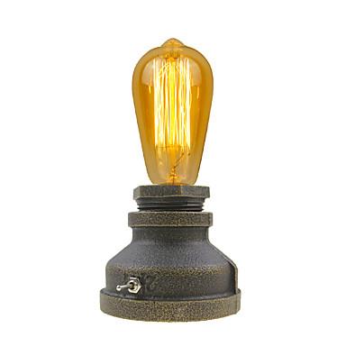 Fémes Antik Művészi Kreatív Újdonságok Dekoratív Asztali lámpa Kompatibilitás Fém 110-120 V 220-240 V