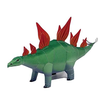 3D-puslespill Papirmodell Papirkunst Dinosaur simulering GDS Klassisk Barne Unisex Gave