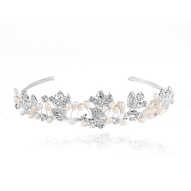 legering tiaras headbands headpiece bryllupsfesten elegant feminin stil