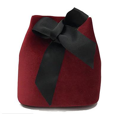 Kvinder Skulderveske PU Polyester Alle årstider Avslappet Rund Glidelås Grønn Svart Rød