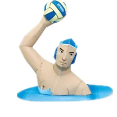 3D-puslespill Baller Papirmodell Papirkunst Modellsett Kvadrat Konkurranse GDS Hardt Kortpapir Sport Klassisk Gutt Unisex Gave