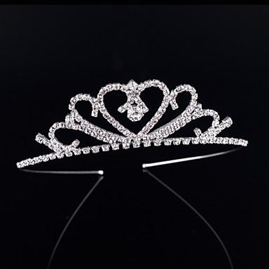 Cristal / Strass / Liga Tiaras / Headbands com 1 Casamento / Ocasião Especial / Aniversário Capacete