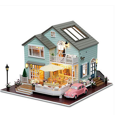CUTE ROOM Model Building Kit DIY House Plastics Classic Pieces Unisex Gift