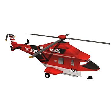 voordelige 3D-puzzels-3D-puzzels Bouwplaat Modelbouwsets Vliegtuig Helikopter DHZ Hard Kaart Paper Klassiek Helikopter Kinderen Unisex Speeltjes Geschenk