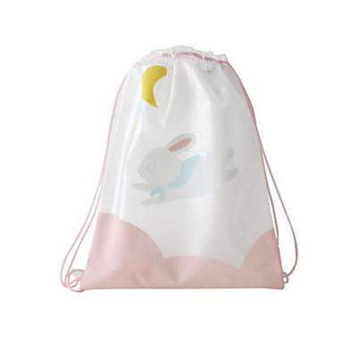 Naisten Kassit PVC Backpack varten Kausaliteetti Kaikki vuodenajat Uima-allas Punastuvan vaaleanpunainen Keltainen