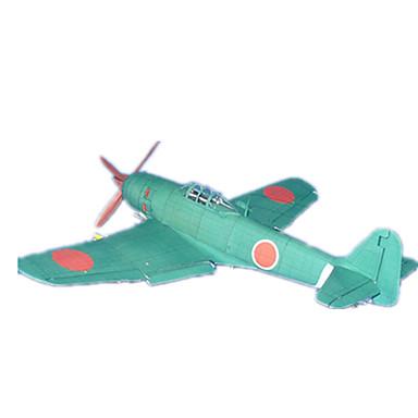 Quebra-Cabeças 3D Maquetes de Papel Brinquedos de Montar Aeronave Lutador Cartão de Papel Duro Crianças Para Meninos Unisexo Dom