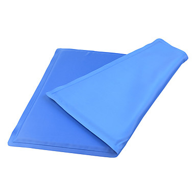 Cat Dog Bed Pet Mats & Pads Solid Foldable Blue