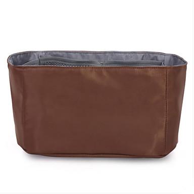 Women Storage Bag Nylon All Seasons Casual Square Without Zipper Black Fuchsia Coffee khaki