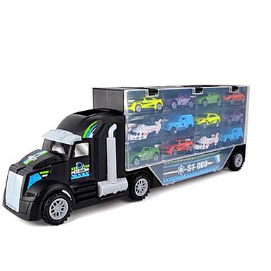 Caminhão de carga Caminhões & Veículos de Construção Civil Carros de Brinquedo Garagem para Carrinhos Animais Ferro Para Meninos Unisexo