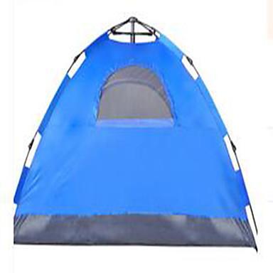 3-4 personer Telt camping Tent Automatisk Telt Hold Varm Støvtett til Camping & Fjellvandring Andre Material CM