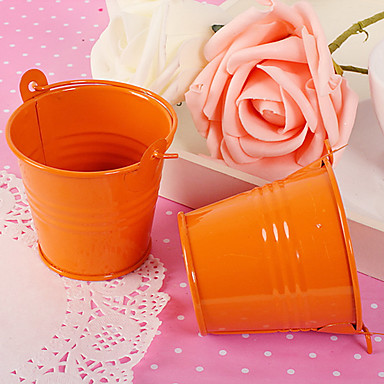 Oval Cotton Favor Holder with Pattern Favor Boxes / Favor Bags / Favor Tins and Pails - 12