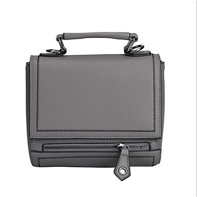 Women Bags All Seasons PU Shoulder Bag for Casual Outdoor Green Black Gray