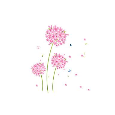 Floral/Botânico Desenho Animado Moda Adesivos de Parede Autocolantes de Aviões para Parede Autocolantes de Parede Decorativos,Vinil