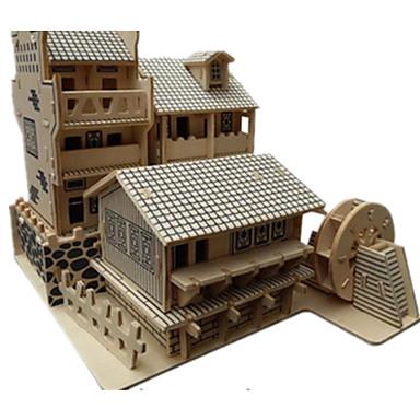 3D-puslespill Puslespill Tre Modell Modellsett Kjent bygning Kinesisk arkitektur Arkitektur 3D GDS simulering Tre Klassisk Kinesisk Stil