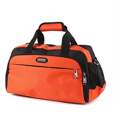 Unisex Bags All Seasons Nylon Travel Bag for Casual Sports Outdoor Blue Black Orange Fuchsia Clover