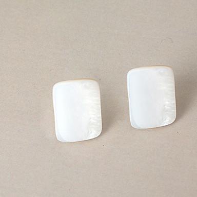 Naisten Niittikorvakorut Muoti Cowry-simpukka Metalliseos Geometric Shape Korut Käyttötarkoitus Päivittäin