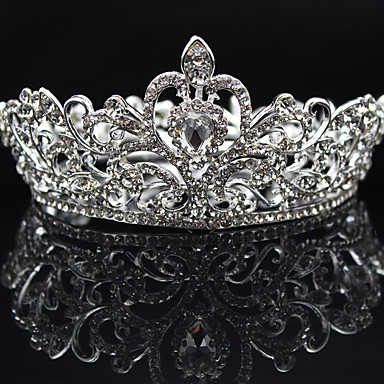 Rhinestone / Alloy Tiaras with 1 Wedding / Special Occasion / Party / Evening Headpiece