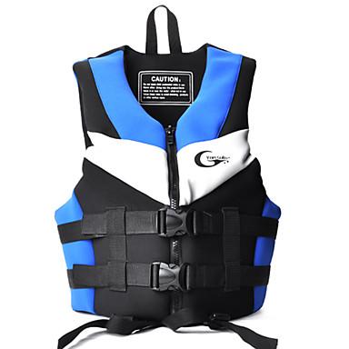 Jaquetas Salva-Vidas Blusas Unisexo Todas as Estações Esportes Mergulho Tactel Sólido