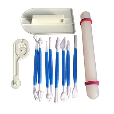 Bakeware-työkalut Muovit / A luokan ABS / ABS Tarttumaton / Leivonta Tool / DIY Leipä / Kakku / Cookie Sfääri kakku Muotit 11 erilaista