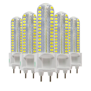 8W LED-lamper med G-sokkel T 128 leds SMD 2835 Varm hvit Kjølig hvit Naturlig hvit 700-800lm 2800-3200/4000-4500/6000-6500K AC 220-240V