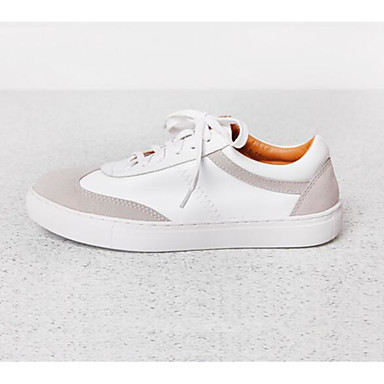 Women's Shoes PU Spring Fall Comfort Sneakers For Casual White