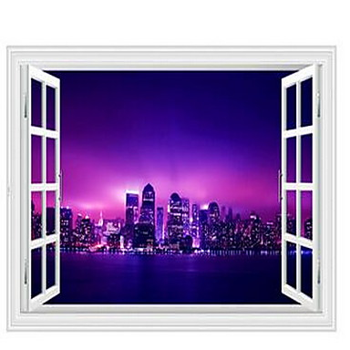 Landscape Wall Stickers 3D Wall Stickers Decorative Wall Stickers,Plastic Home Decoration Wall Decal Wall