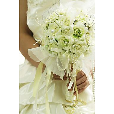 Bouquets de Noiva Buquês Casamento Organza / Cetim 12.2