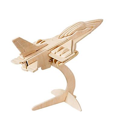 3D-puslespill Puslespill Tremodeller Luftkraft Faiter Kjent bygning Arkitektur 3D GDS Tre Klassisk Unisex Gave