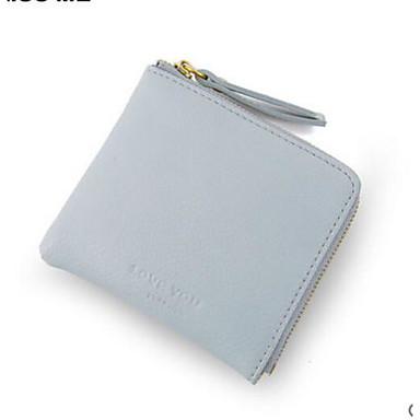 Women's Bags PU Coin Purse for Casual Outdoor All Seasons Black Blushing Pink Gray