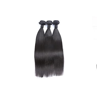 Cabelo Brasileiro Liso Tramas de cabelo humano 3 Peças 0.3