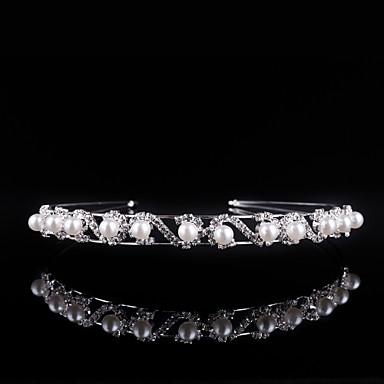 kristalli rhinestone alloy headbands päähine klassinen naisellinen tyyli