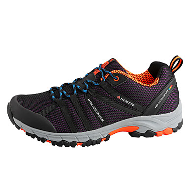 Unisex Shoes Tulle Spring Fall Comfort Light Soles Athletic Shoes Hiking Shoes Flat Heel Round Toe For Athletic Casual Outdoor Black Dark