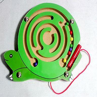 Labyrinter og logikkspill Labyrint Magnetiske labyrinter Farskapspill Leketøy fly Magnetisk Tre Barne 1 Deler